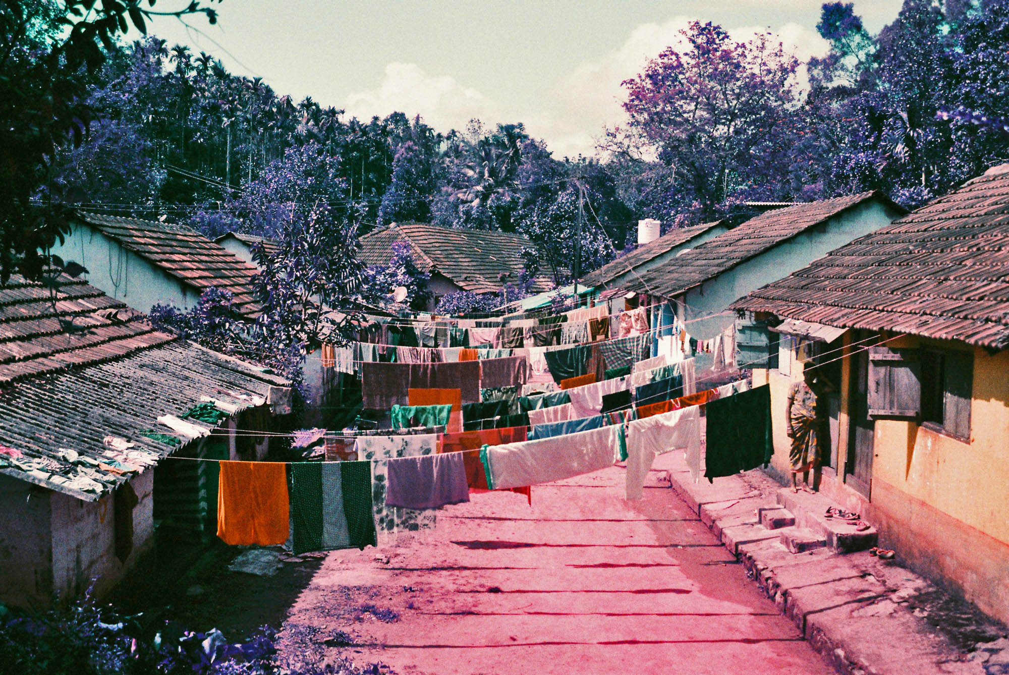 Laundry Day - Vythiri, India. @NeutralDensityMedia Benefits from a little over exposure and a bit of post to make the colours pop but great fun to shoot.