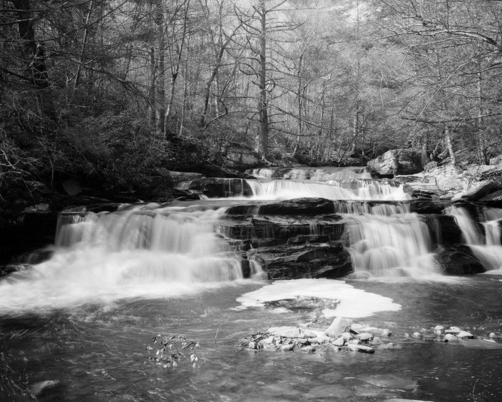 Vernooy Falls in Upstate NY