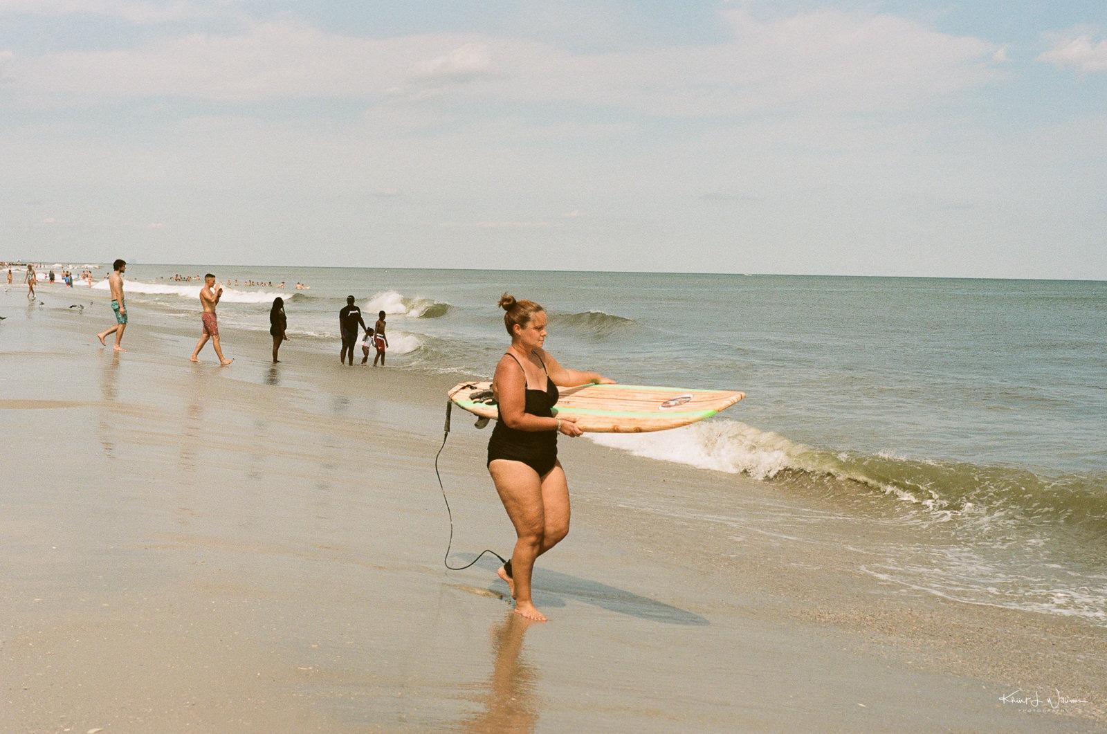 Avalon Beach, 7 Mile Island, Cape May, New Jersey | 26 August, 2020 |Minolta X-700 |Minolta MD Rokkor-X 50mm f/1.7