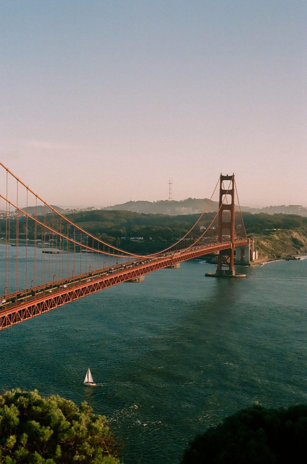 San Francisco, CA at Sunset