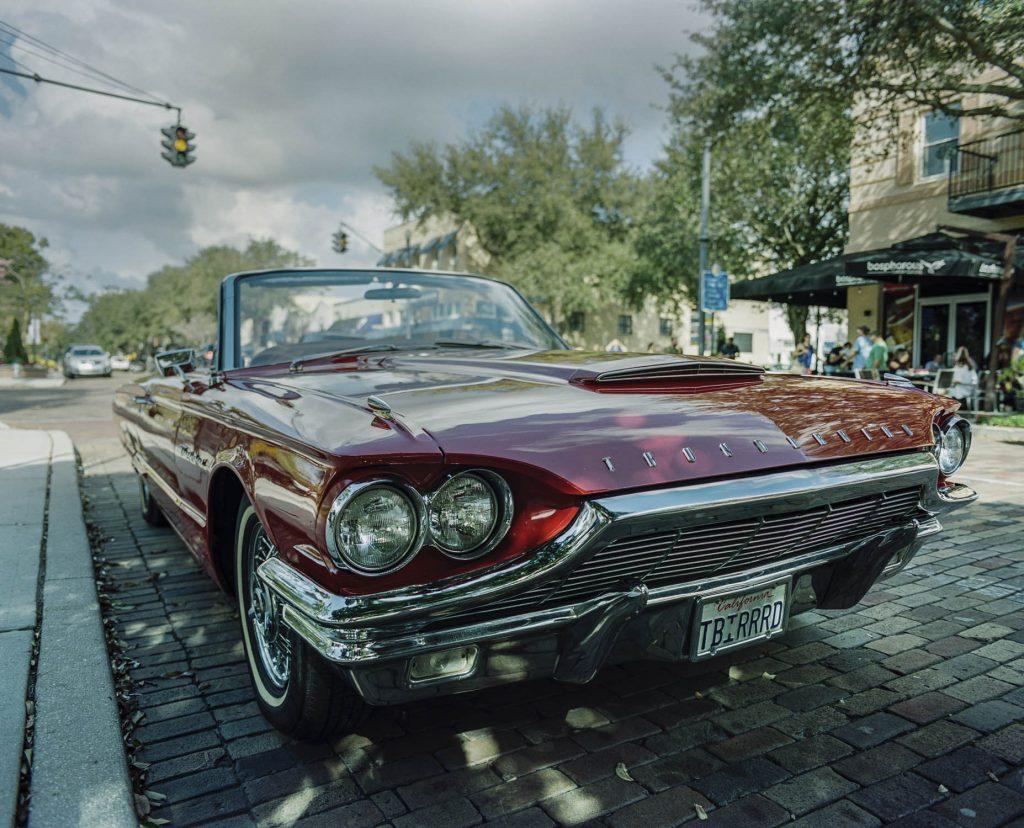 Red 1964 Thunderbird