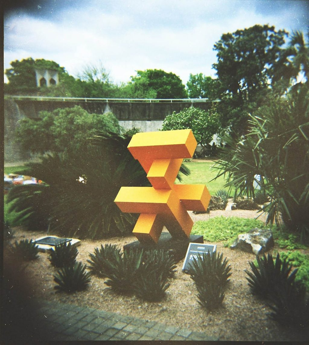 At the San Antonio botanical gardens in Texas. Using one of my toy cameras, probably a Holga.