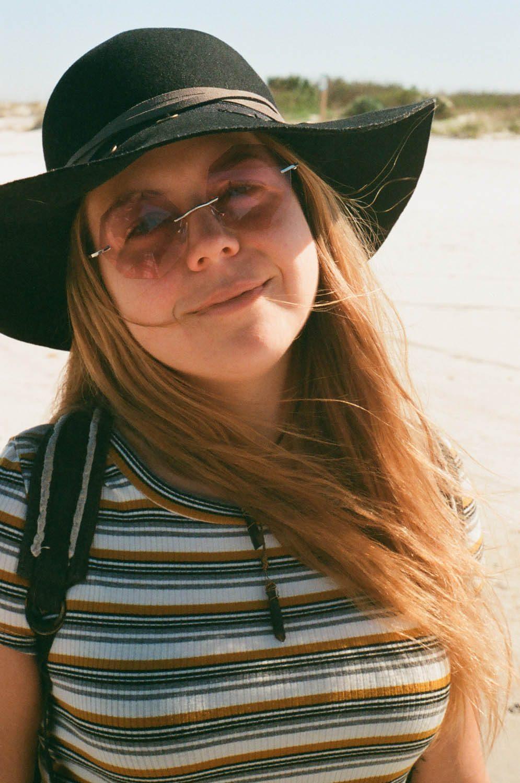 Erin at New Smyrna Dunes Park