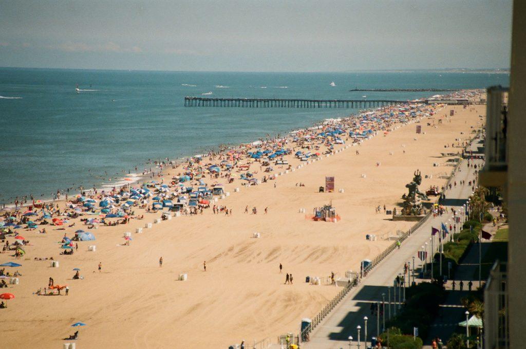 Virginia Beach on 35mm (Nikon N65)