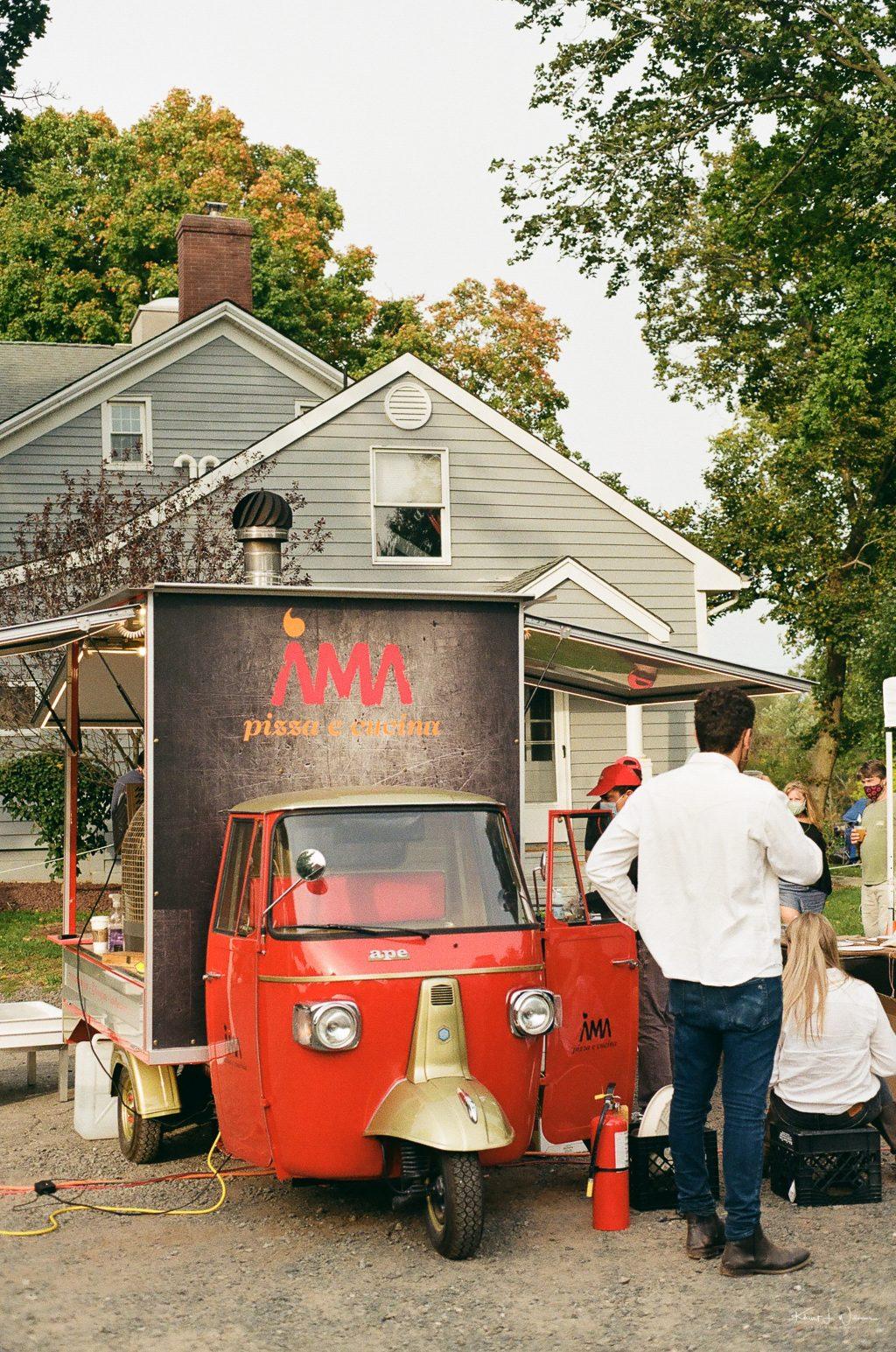 AMA Pizze e Cucina Truck | Minolta X-700 | Minolta MD Rokkor-X 45mm