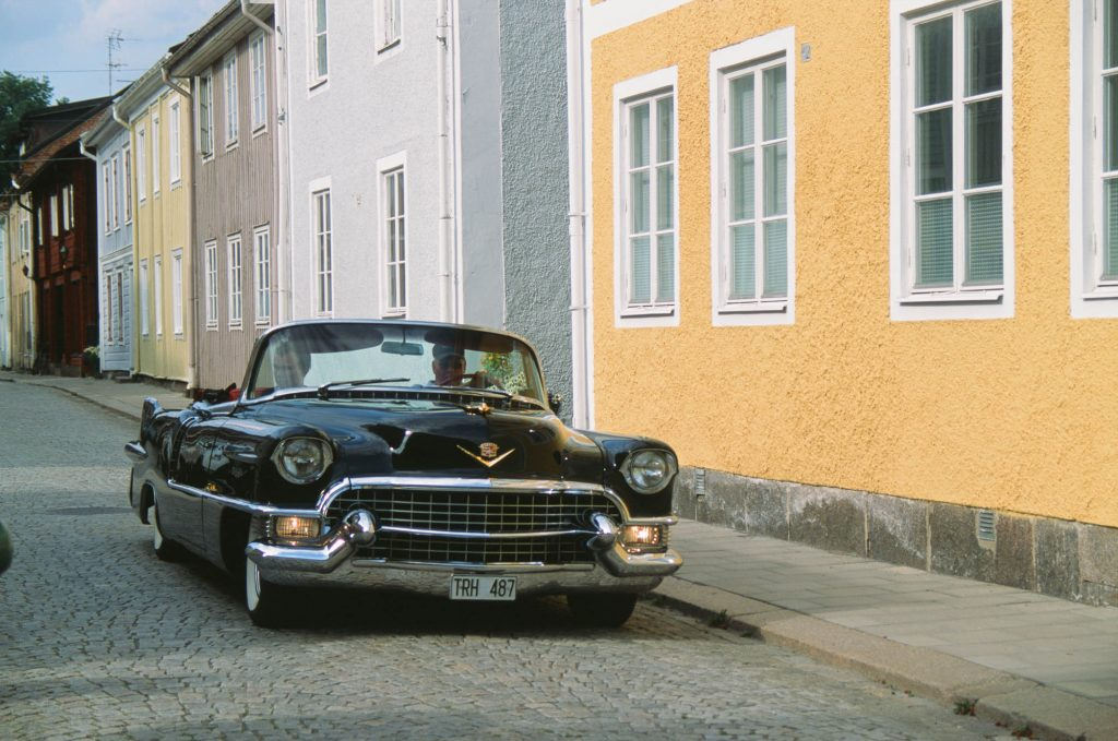 American classic in Sweden. shot at box speed