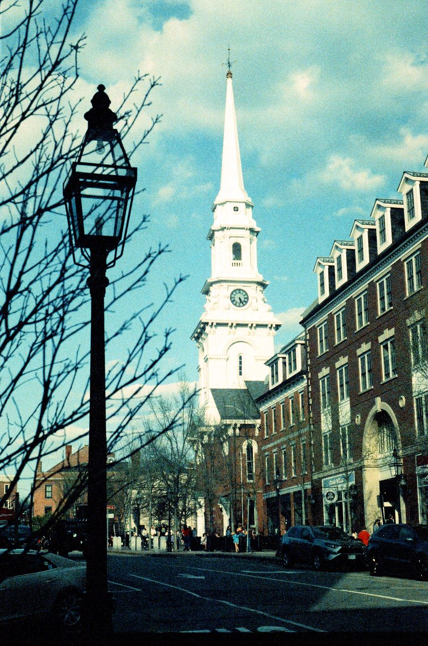 Portsmouth NH. Love this Retrochrome film! (set black point to make it pop.)