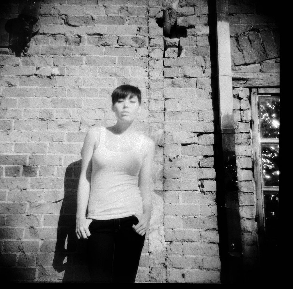 Taken with a Diana F+ Edelweiss toy camera with a red 25a filter.