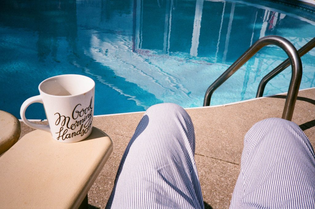Good morning, Handsome. Windsor, Canada. Shot at box speed with an Olympus XA rangefinder.