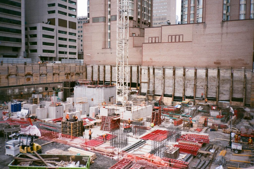 Super Courthouse. Toronto, Canada. Shot at box speed with an Olympus XA rangefinder.