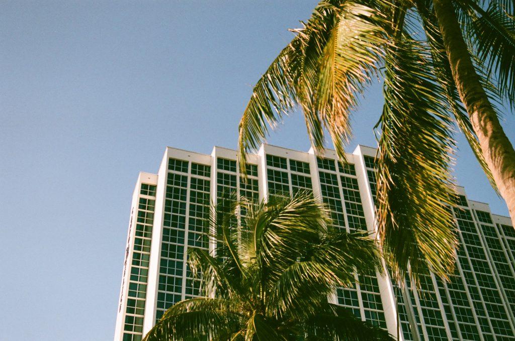 Sunny downtown. Nikon N65 Fujifilm Superia X-TRA 400