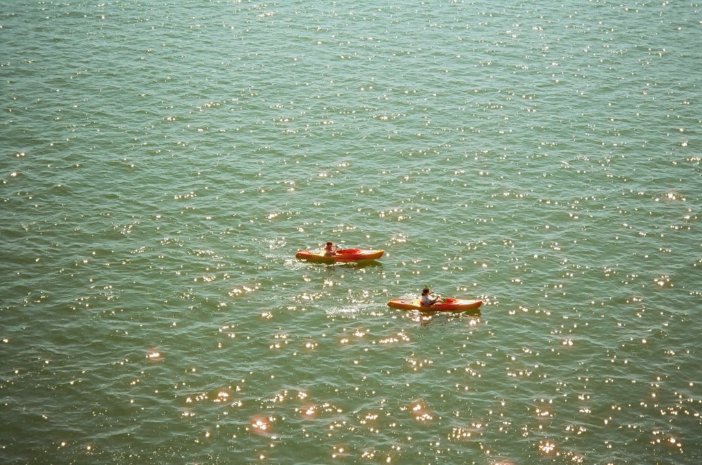 Lake Mendota, WI on an expired roll