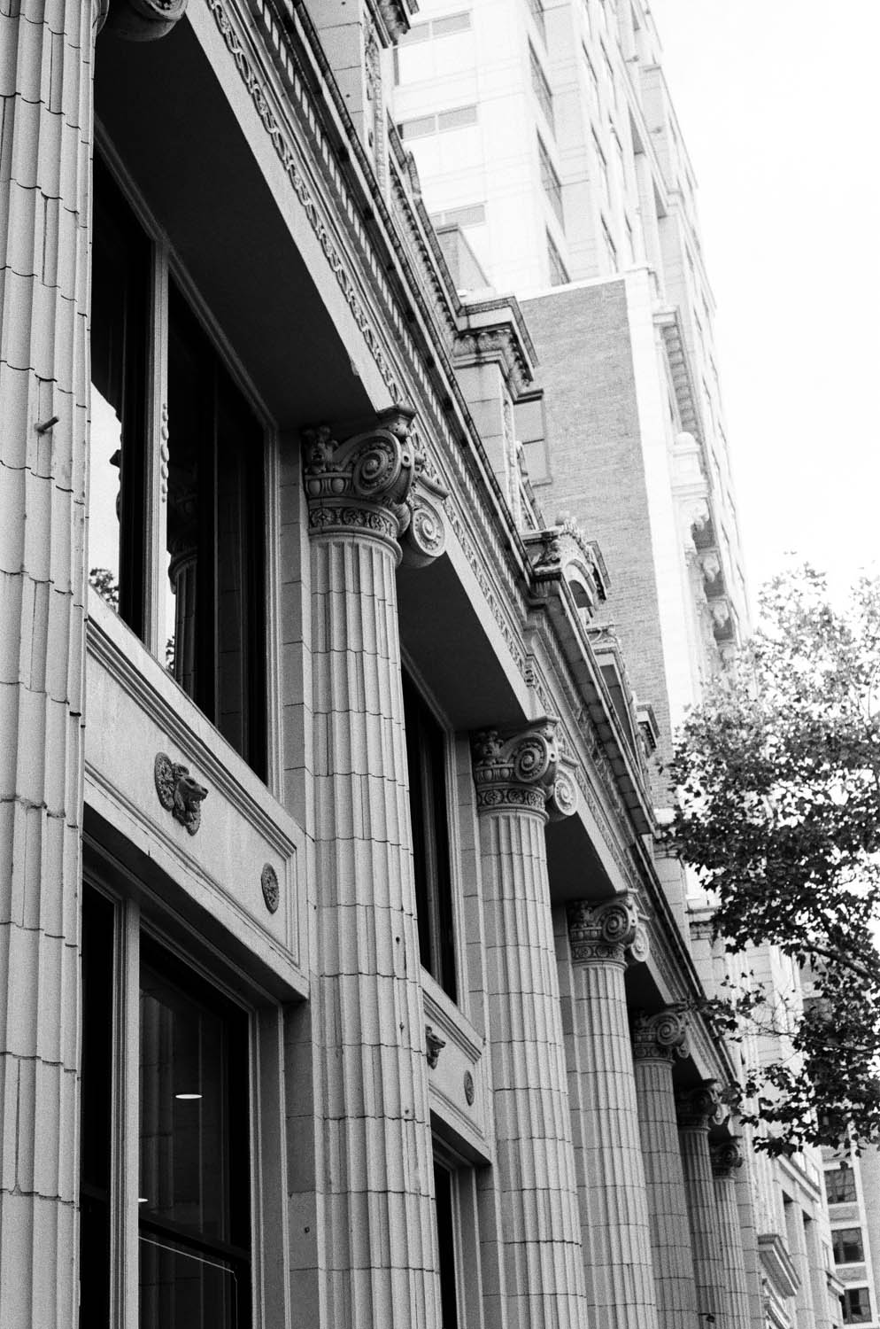 Downtown Norfolk, VA on Kodak Tri-X with Pentax K1000