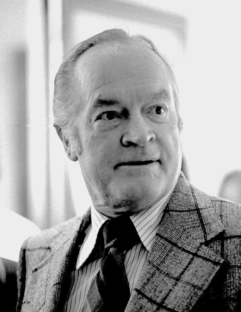 Pictures of Bob Hope were taken in Binghamton, New York. Hope was MC for a Miss World contest being held in Binghamton in 1973.