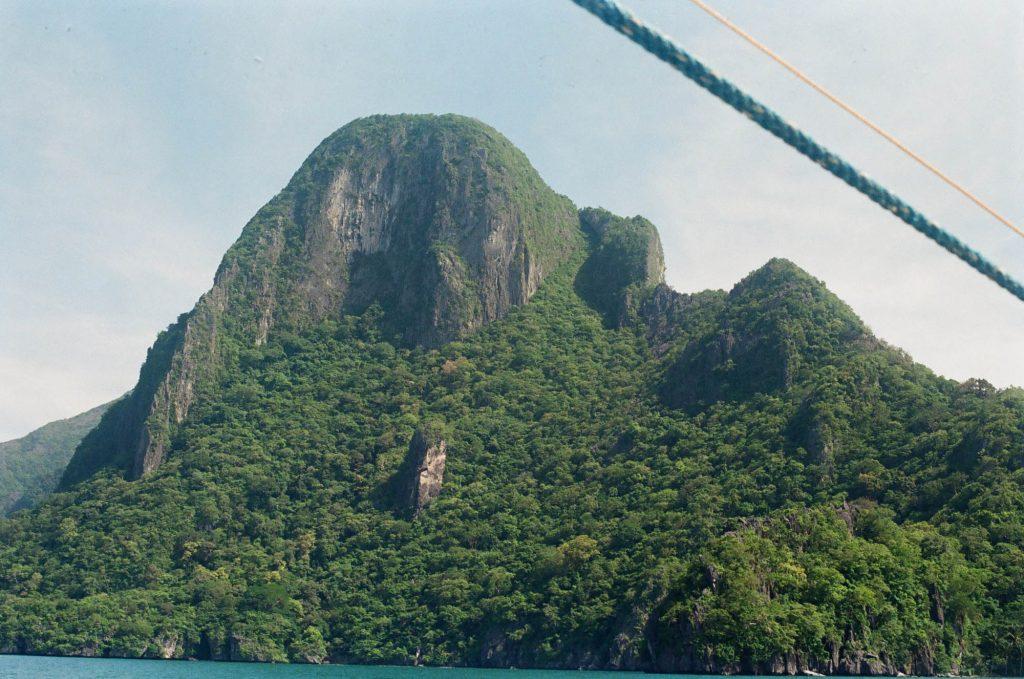 Island shot with Olympus OM-G