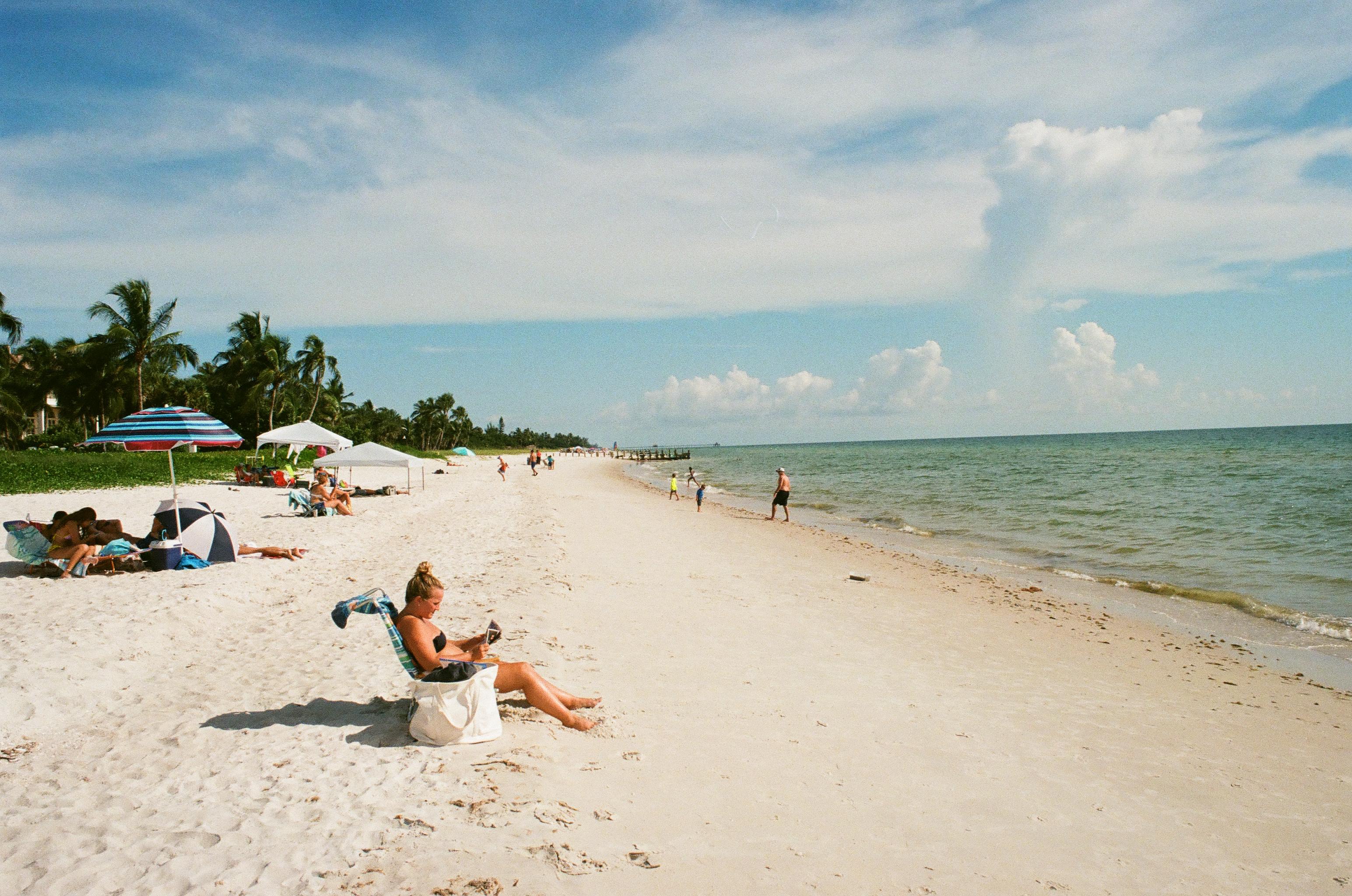 Naples Beach, FL. Kodak Ultramax 400 + Minolta XD-11 (a.k.a XD-7)