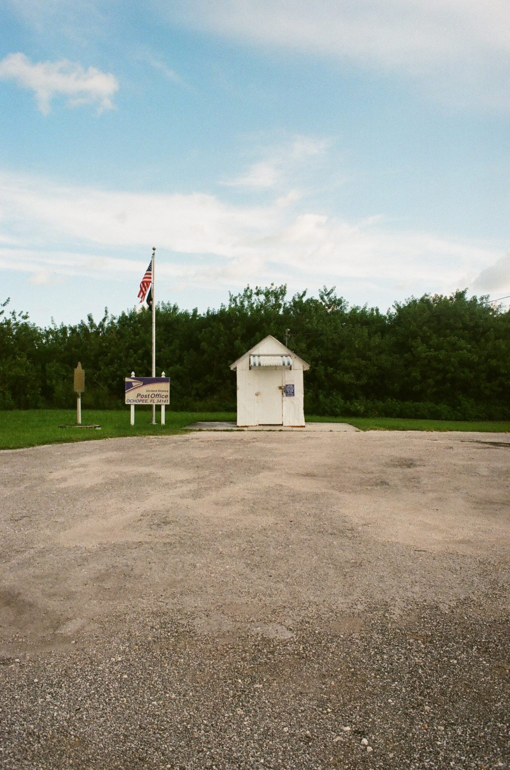 The smallest Post Office in the US located in Ochopee, FL - Kodak Ultramax 400 + Minolta XD-11 (a.k.a XD-7)