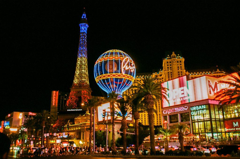 Vegas at Night - Ultramax 400