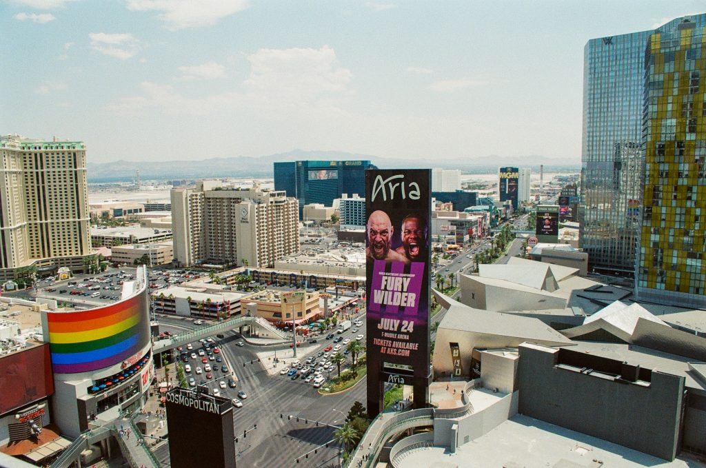 Daytime Vegas Shot