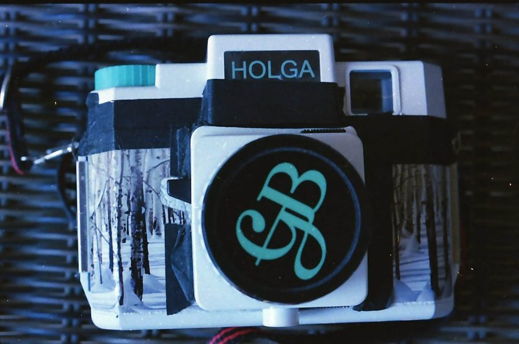 One of my Holga toy cameras taken with my Ricoh KR-5.