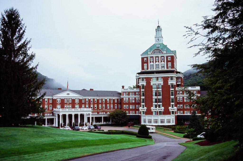 The Omni Homestead Resort in Virginia- Nikon N65