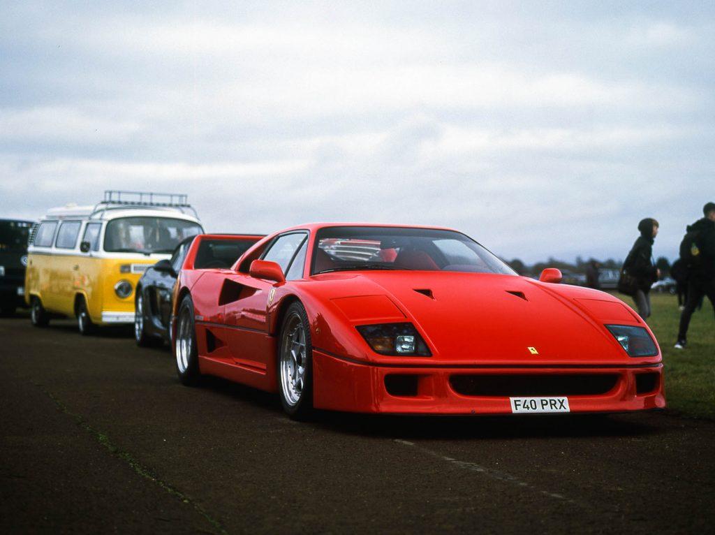 F40 - Sunday scramble, bicester Heritage, UK - Bronica ETRSI